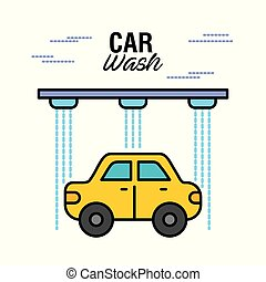 car wash service auto station business