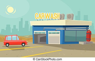 Car wash station