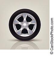 car wheel 01