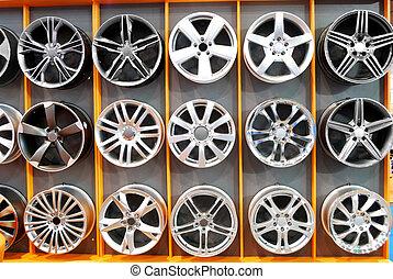 car wheel aluminum rims