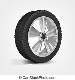 Car Wheel Image