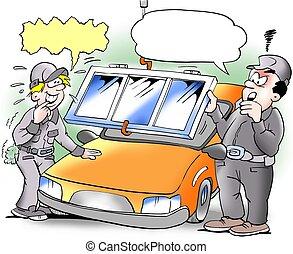 Car window switch