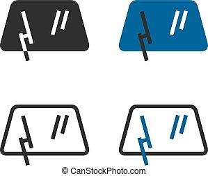 car, wiper, pára-brisa, windscreen