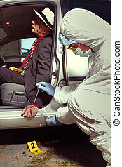 Car with trunk full of drugs and dead dealer found near...