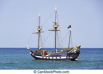 caraíbas, piratas