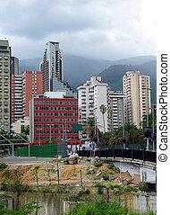 Caracas downtown