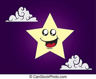 caractère, étoile