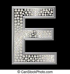 caractère, diamant, e