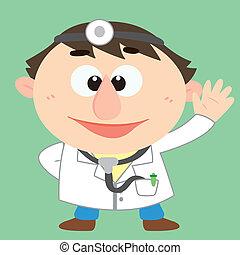 caractère, docteur