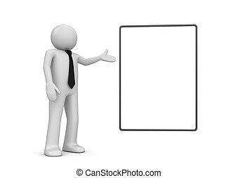 caractère, pointage, copyspace