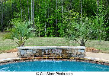 caractéristique eau, piscine