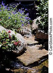 caractéristique eau, ruisseau, écoulement