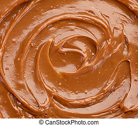 caramel background - background of sweet caramel sauce