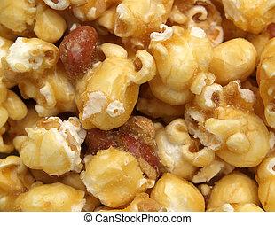 caramel popcorn macro