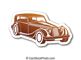 Caramel sport classic auto on paper
