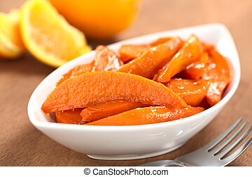 Caramelized Sweet Potato Wedges