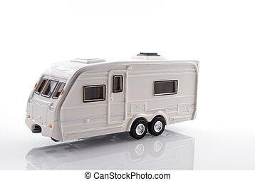 caravan for overnight