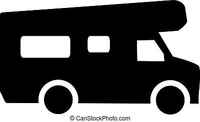 Caravan symbol