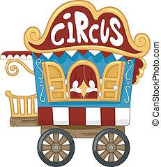 caravana, circo