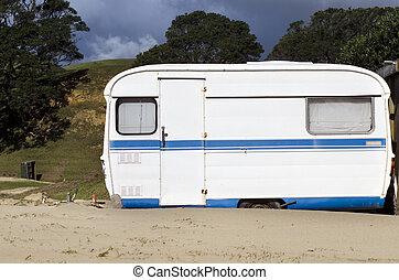 caravane, camping