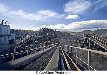 carbón, clasificación