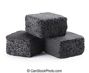 carbón, cubos