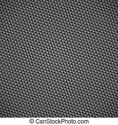 carbón, fibra, patrón