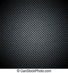 carbón, fibra, textura