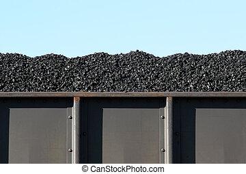 carbón, furgón