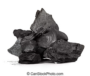 carbón, madera