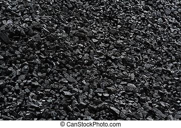 carbón, plano de fondo