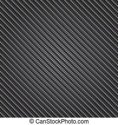 carbón, vector, textura, fibra