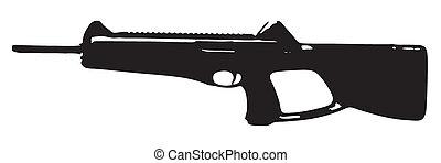 carbine, beretta, cx4, tempestade
