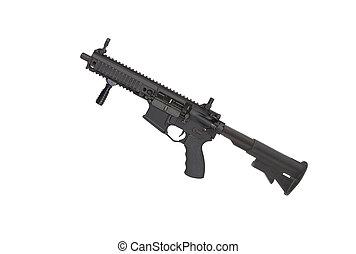 carbine, fehér, elszigetelt, háttér