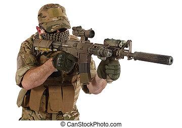carbine, hadi, m4, magán, szállító