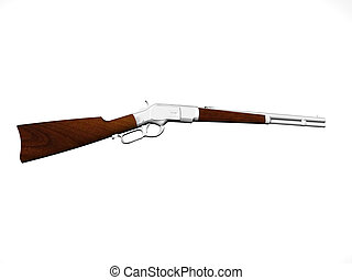 Lever action carbine rifle