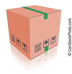 carboard, scatola, pacchetto