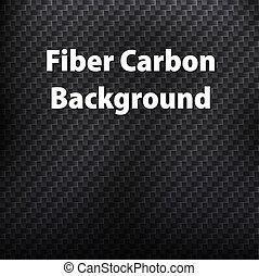 Fiber carbon background