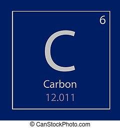 Periodic table element carbon icon periodic table element eps carbon c chemical element icon urtaz Image collections