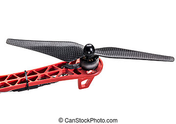 carbon fiber drone propeller and motor