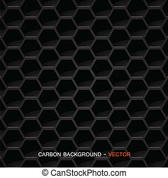 Carbon fiber material - Vector - Vector illustration of of ...