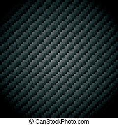 Vector illustration of a carbon fiber texture