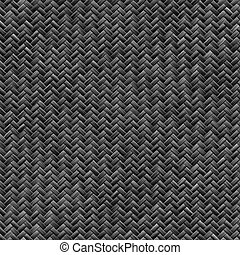 carbon fiber weave - A tightly woven carbon fiber background...