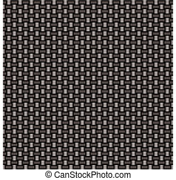 carbon fiber woven link