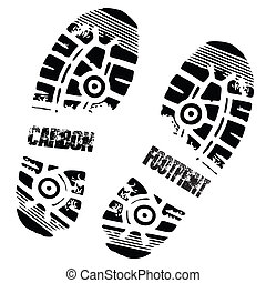 carbon foot print shoe - carbon foot prints and shoe...