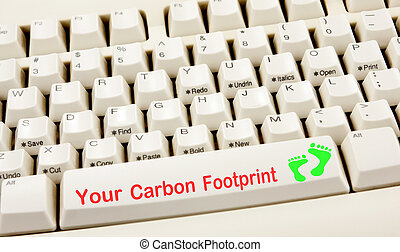 Carbon Footprint Keyboard