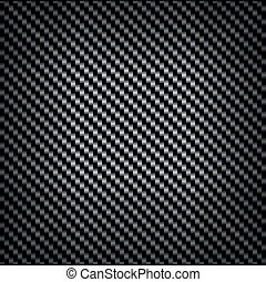 Carbon or fiber background texture with a repeat diagonal...