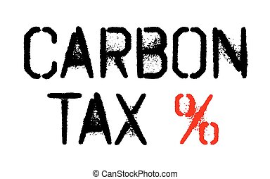 Carbon tax sticker