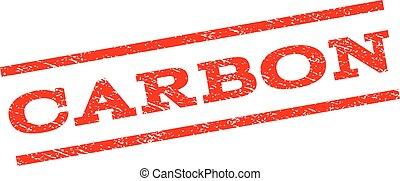 Carbon Watermark Stamp