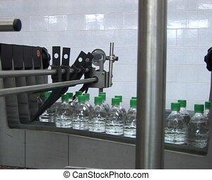 carbonaté, production, boisson